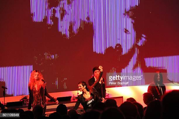 Nena Tochter Larissa Kerner Sohn Sakias Kerner Musiker der Band Verleihung Gala Deutscher Medienpreis 2011 für herausragende Symbole der...