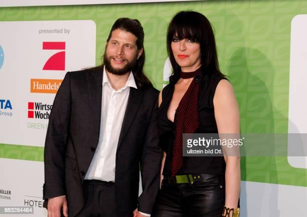 Nena und Philipp Palm auf den GreenTec Awards 2015 im Velodrom Berlin am