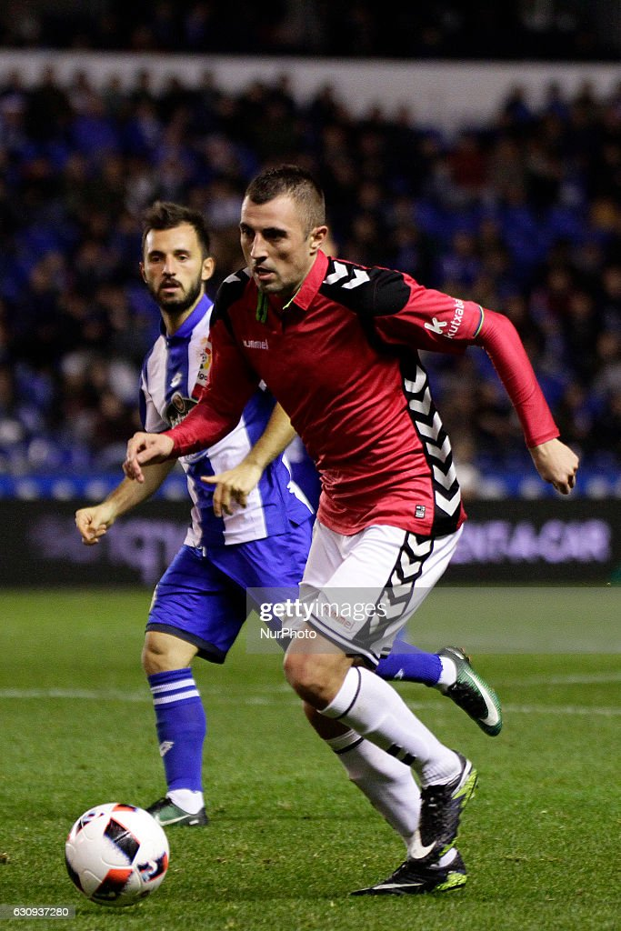Deportivo de La Coruna v Deportivo Alaves SAD - Copa del Rey