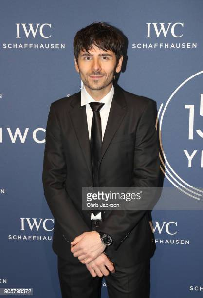 Nenad Mlinarevic attends the IWC Schaffhausen Gala celebrating the Maison's 150th anniversary and the launch of its Jubilee Collection at the Salon...