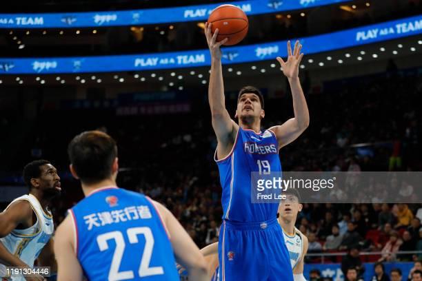 Nenad Todorovic of Tianjin Pioneers in action during 2019/2020 CBA League - Beijing Ducks v Tianjin Pioneers at Beijing Wukesong Sport Arena on...