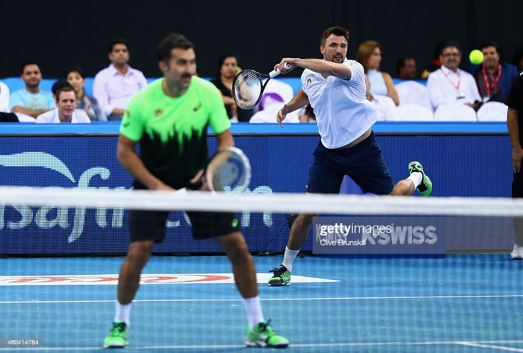 Coca-Cola International Premier Tennis League - United Arab Emirates: Day Three : News Photo