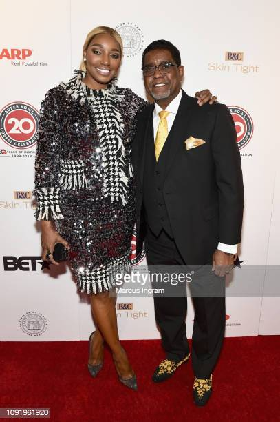 NeNe Leakes and Gregg Leakes attend the 2019 Super Bowl Gospel Celebration at Atlanta Symphony Hall on January 31, 2019 in Atlanta, Georgia.