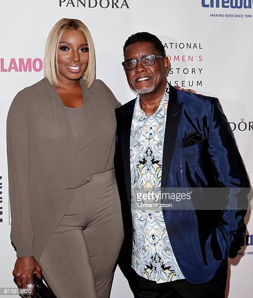 NeNe Leakes and Gregg Leakes attend the 5th annual Women Making History Brunch at Montage Beverly Hills on September 17 2016 in Beverly Hills...