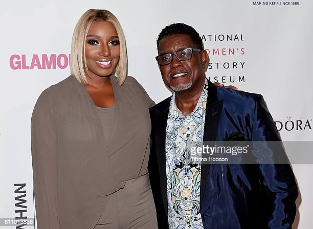 NeNe Leakes and Gregg Leakes attend the 5th annual Women Making History Brunch at Montage Beverly Hills on September 17, 2016 in Beverly Hills,...