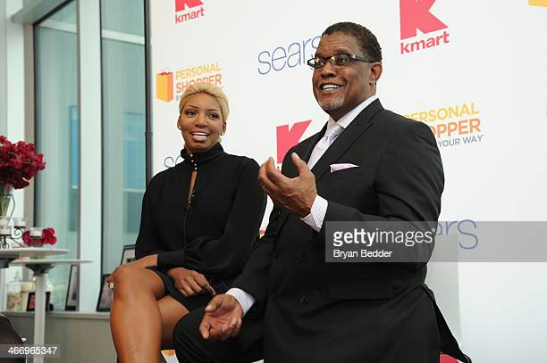 NeNe Leakes and Gregg Leakes attend the Shop Your Way #RealPersonal event at Ink48 on February 5, 2014 in New York City.