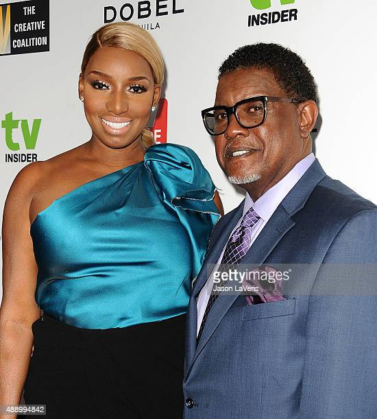 NeNe Leakes and Gregg Leakes attend the Television Industry Advocacy Awards at Sunset Tower on September 18 2015 in West Hollywood California