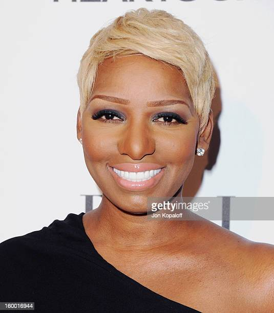 NeNe Leakes arrives at ELLE's 2nd Annual Women In TV Event at Soho House on January 24 2013 in West Hollywood California
