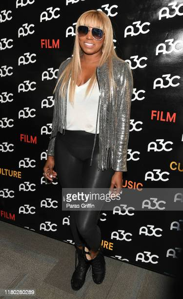 NeNe Leakes attends A3C Festival & Conference at AmericasMart on October 10, 2019 in Atlanta, Georgia.