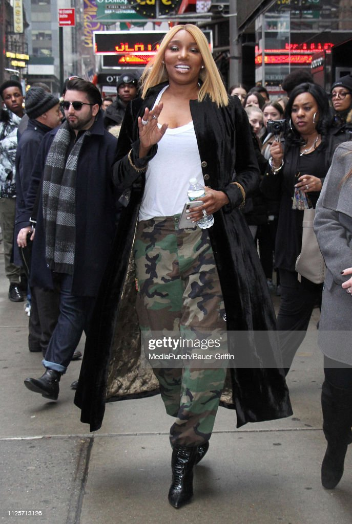 NY: Celebrity Sightings In New York City - February 18, 2019