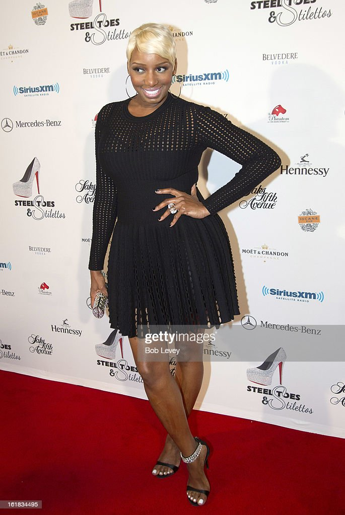 Nene Leakes on the red carpet at Beverly Hills Sports And Entertainment Group Present The Event: Steel Toes And Stilettos Party at The Phantom on February 16, 2013 in Houston, Texas.