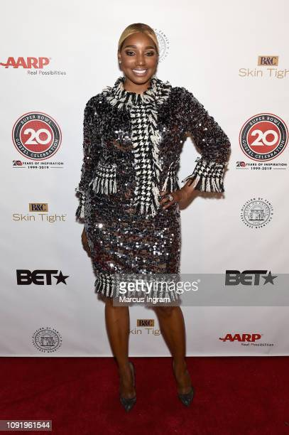 NeNe Leakes poses backstage at the 2019 Super Bowl Gospel Celebration at Atlanta Symphony Hall on January 31, 2019 in Atlanta, Georgia.