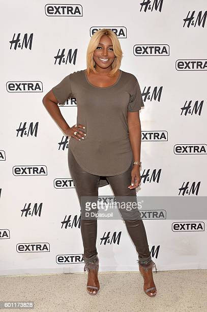 NeNe Leakes visits 'Extra' at their New York studios at HM in Times Square on September 9 2016 in New York City