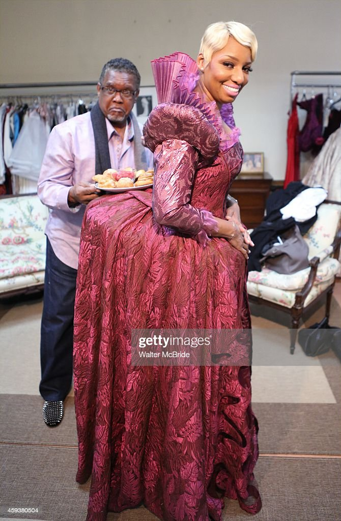 Exclusive Coverage! NeNe Leakes Final Cinderealla Costume Fitting For Her Broadway Debut : News Photo