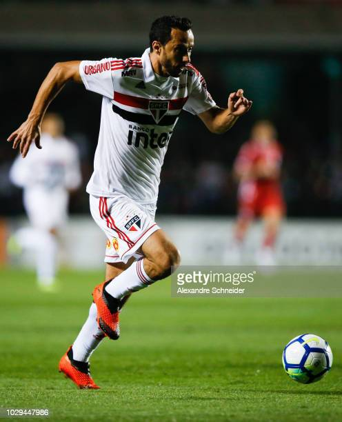 Nene of Sao Paulo in action during the match against Bahia for the Brasileirao Series A 2018 at Morumbi Stadium on September 08 2018 in Sao Paulo...