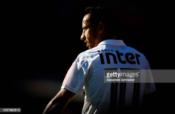 Nene of Sao Paulo in action during the match between against America MG for the Brasileirao 2018 at Morumbi Stadium on September 22 2018 in Sao Paulo...