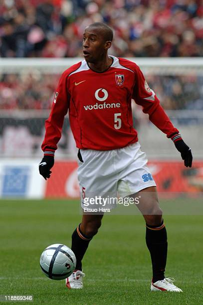 Nene whose real name is Fabio Camilo de Brito of Urawa Red Diamonds in action during the JLeague Division 1 match between Urawa Red Diamonds and...