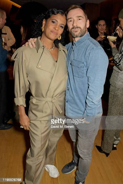 Neneh Cherry and Charlie Condou attend the Neneh Cherry and iD celebration of 30 years of 'Raw Like Sushi' at The London EDITION on January 23 2020...