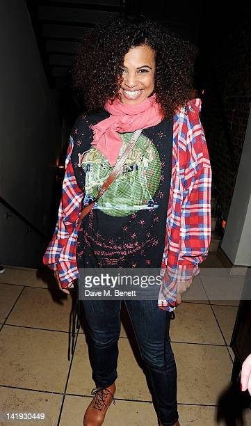 Neneh Cherry attends an after party for 'A Memory A Monologue A Rant And A Prayer' a onenight only performance produced by Lauren Prakke and Michelle...