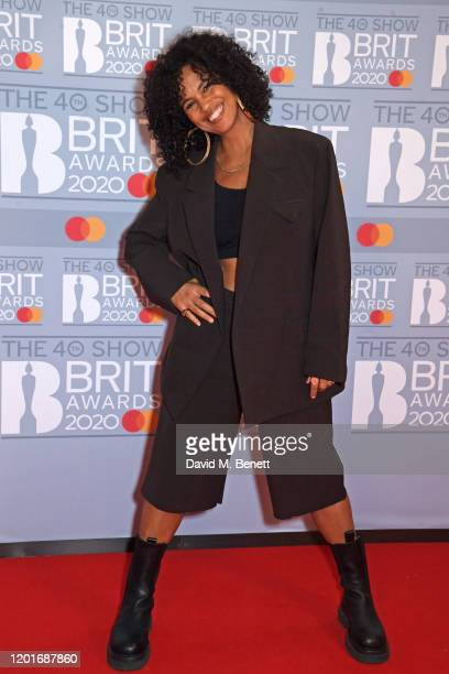 Neneh Cherry attends The BRIT Awards 2020 at The O2 Arena on February 18 2020 in London England