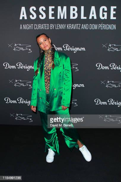 Neneh Cherry attends the Lenny Kravitz & Dom Perignon 'Assemblage' exhibition, the launch Of Lenny Kravitz' UK Photography Exhibition, on July 10,...