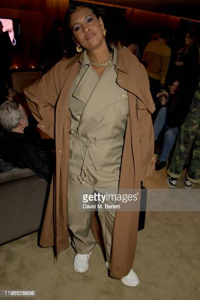 Neneh Cherry attends the Neneh Cherry and iD celebration of 30 years of 'Raw Like Sushi' at The London EDITION on January 23 2020 in London England