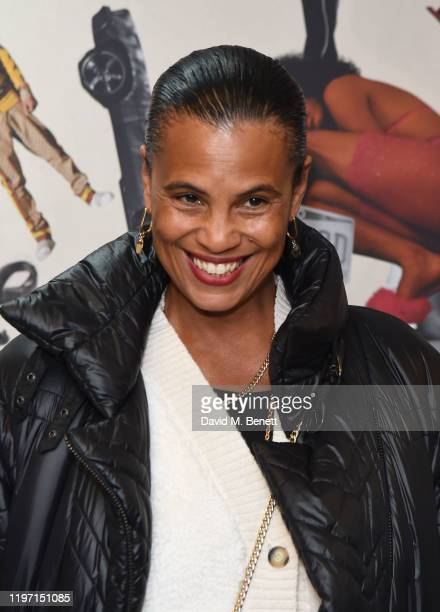 Neneh Cherry attends the UK Premiere of Queen Slim at the Rich Mix Cinema on January 28 2020 in London England