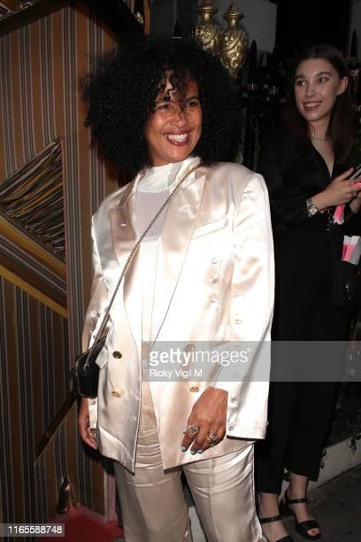 Neneh Cherry seen attending Mabel album launch party at Annabel's on August 01 2019 in London England
