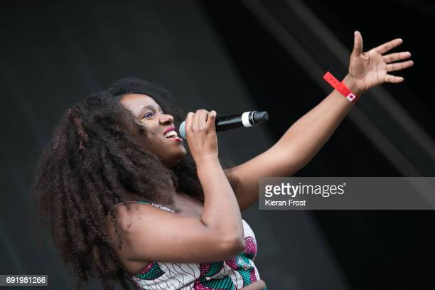 Neo Jessica Joshua performs at Forbidden Fruit Festival at the Royal Hospital Kilmainham on June 3 2017 in Dublin Ireland