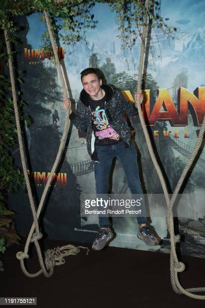 Neo The One attends the photocall of the Jumanji Next Level film at le Grand Rex on December 03 2019 in Paris France