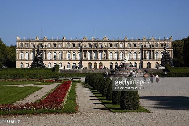 Neo-Baroque Herrenchiemsee Palace (New Palace).