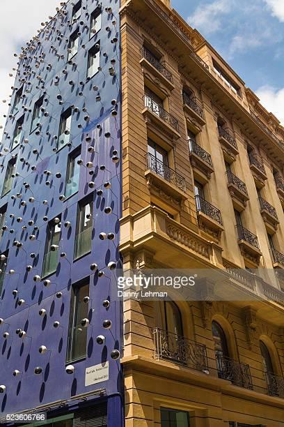 Neoclassical Hotel Facade, Barcelona
