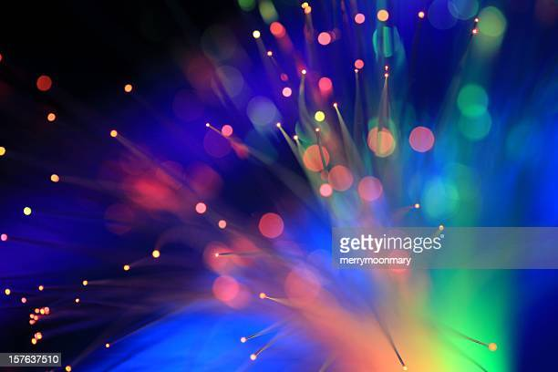 neon blacklights - fibre optic stock pictures, royalty-free photos & images