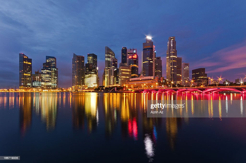 Neon City : Stock Photo