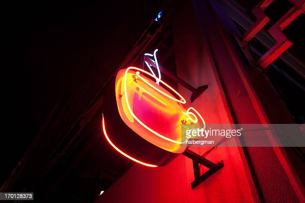 Neon Kaffee -