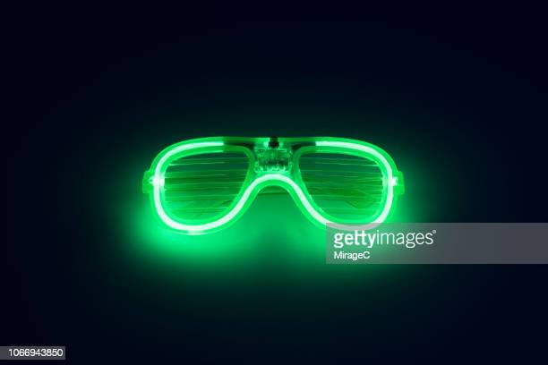 Neon Colored Glowing Eyeglasses