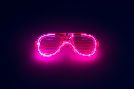 Neon Colored Glowing Eyeglasses - gettyimageskorea