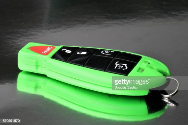 Neon colored Vehicle key and wieless remote control