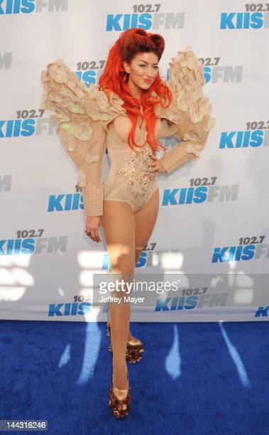 Neon Hitch attends 1027 KIIS FM's Wango Tango at The Home Depot Center on May 12 2012 in Carson California
