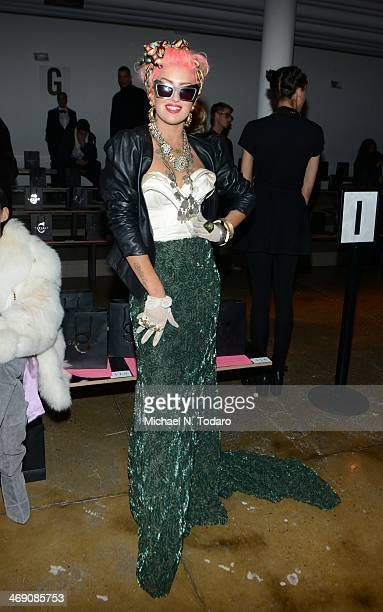 Neon Hitch attends the The Blonds Show during MADE Fashion Week Fall 2014 at Milk Studios on February 12, 2014 in New York City.