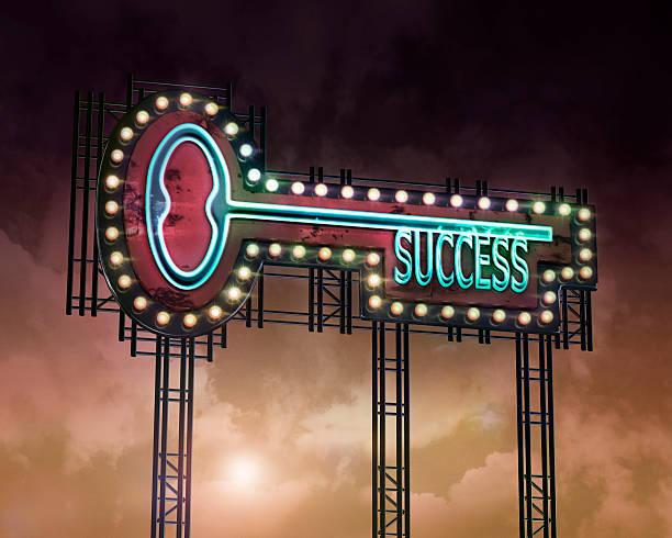 neon key Succcess