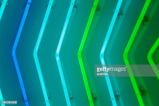 neon lamps. - fluorescent light stock pictures, royalty-free photos & images