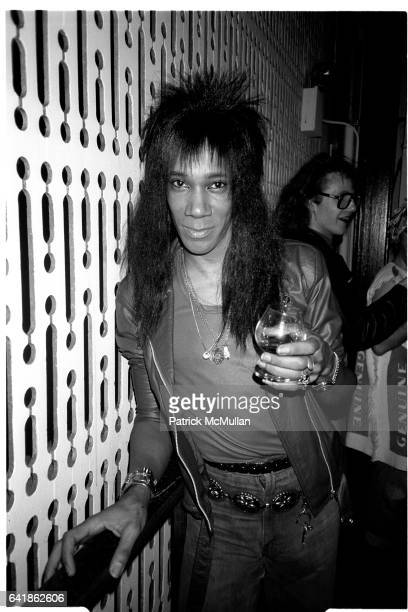 Neon Leon at Perri Lister's birthday party at Limelight Tuesday April 7 1987