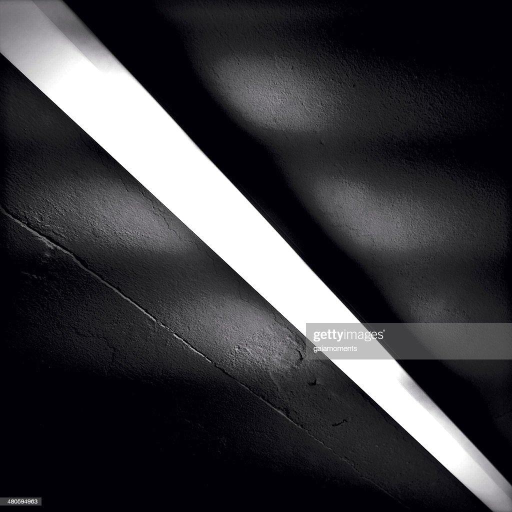 Neon Light Ceiling : Stock Photo
