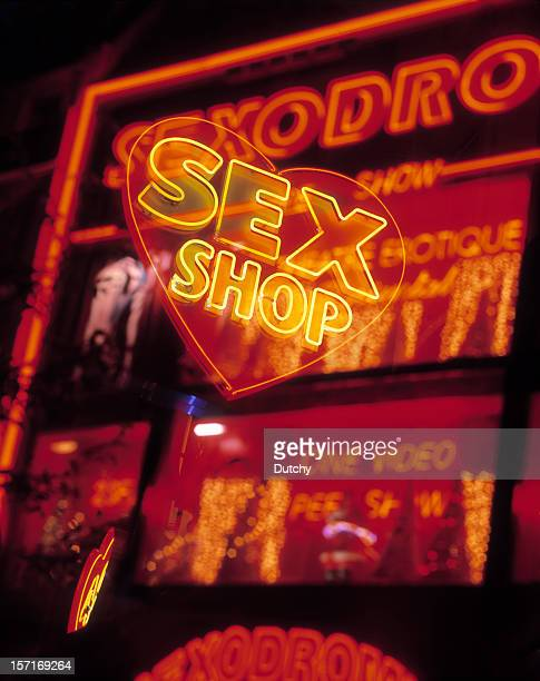 Neon lights, Pigalle, Paris.