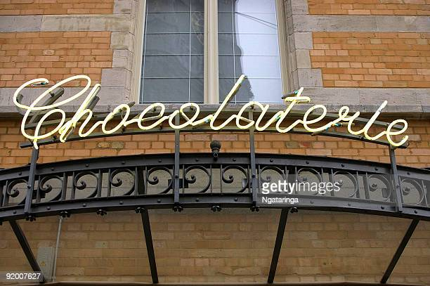 Neon sign Chocolaterie