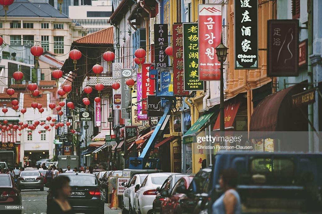 Chinatown, Singapore : News Photo