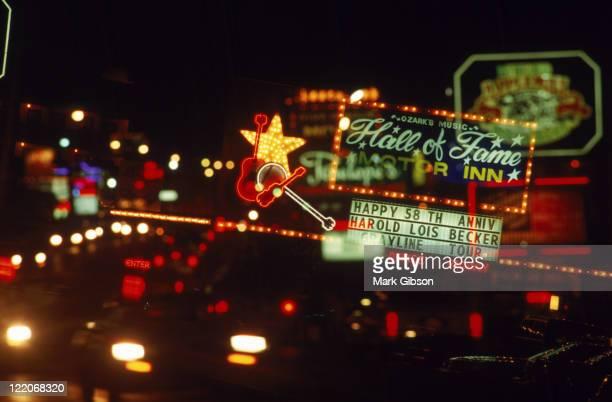 Neon signs, Branson, MO