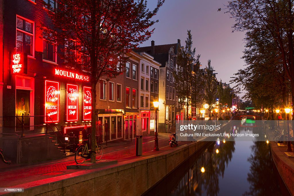 Neon signs in red light district amsterdam netherlands stock photo neon signs in red light district amsterdam netherlands stock photo sciox Image collections