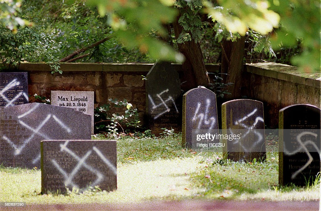 Jewish Cemetery Desecrated In Germany Pictures Getty Images